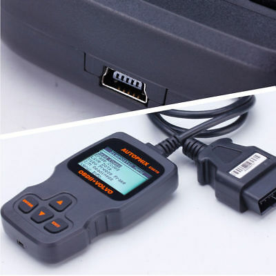 New Automotive Scanner Diagnostic tool Fault Analyzer OBD2 OBDII for Volvo