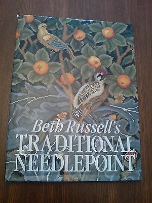 Beautiful Vintage Ehrman Needlepoint Tapestry Book  Beth Russell