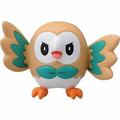 Rowlet Pokemon Go Action Figure Pocket Monster Collection EX XY Toy Sun Moon