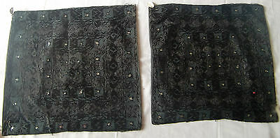 Traditional Old Vintage Embroidery Cushion/pillow Cover India Fine India Art 31