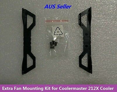 Extra Second 120mm Fan Mounting Kit for Coolermaster Hyper 212X EVO CPU Cooler