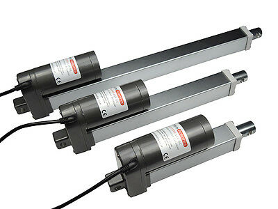 High Force Compact 12V DC Linear Actuator, 180kg, Low Noise, Electric Piston