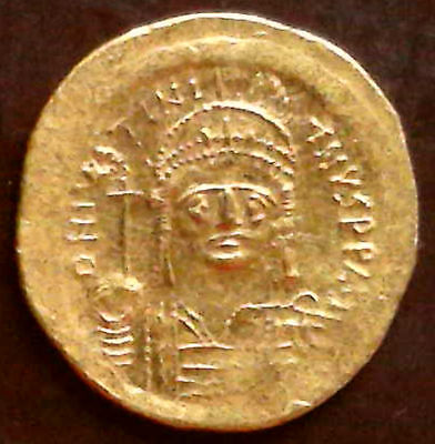 Byzantine, Justinian, 527-65 AD,  gold solidus, Constantinople