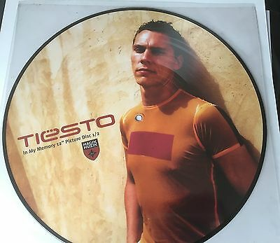 """Tiesto 12"""" Picture Disc 'lethal Industry'  (Black Note) - Holland"""