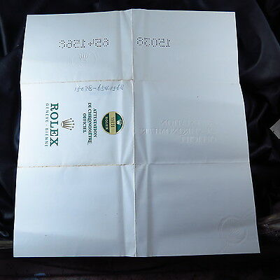 Genuine USED ROLEX  MEN WATCH GUARANTEE  PAPER FREE SHIPPING