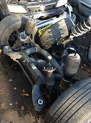 BMW X5 2002 4.4 Rear Axle Complete Diff Shafts Hubs Suspension Air Bags