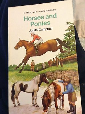 Horses and ponies Judith Campbell vg condition