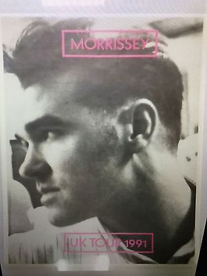 MORRISSEY  NEW. 1991 UK TOUR POSTER 24x34 inches STILL IN ROLLED PLASTIC. NEW