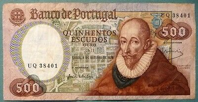Portugal 500 Escudos Note Issued 04.10 1979, P 177