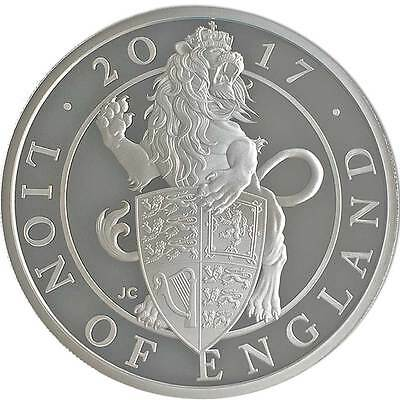 Royal Mint The Lion of England 2017 UK One Ounce Silver Proof Coin