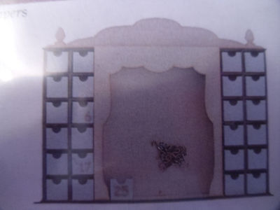 CandyBox Crafts Theatre Style Advent kit