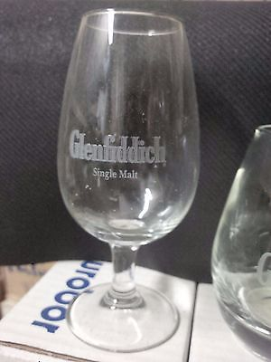 6 verres whisky GLENFIDDICH
