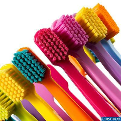 CURAPROX range of manual toothbrushes, plaque's toughest enemy!