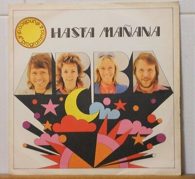 ABBA - HASTA MANANA - WATCH OUT - vinile 45 giri nuovo PRIMA STAMPA DIG IT 1974