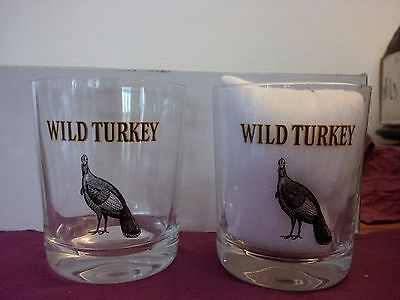 6 verres whisky WILD TURKEY