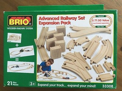 BRIO Advanced Railway Set Expansion Pack #33308 For Thomas The Tank Engine Sets