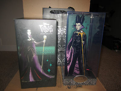 NEW MALEFICENT Disney Limited Edition Designer Doll LE 7055/13000