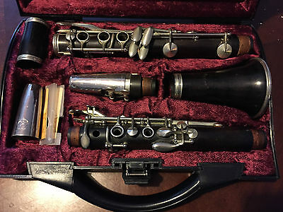 Vintage Buisson Wood Clarinet In Good Condition