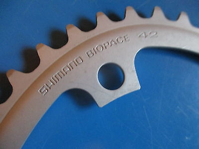 Shimano BIO-PACE Oval Chain-ring - 42t Nos