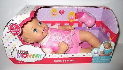 Fisher-Price Little Mommy Baby So New 12'' Baby Doll NIB Darling Dancer
