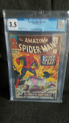 Amazing Spider-man 40 Marvel Comics CGC 3.5 Origin Green Goblin