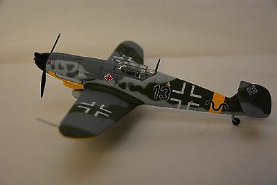 Franklin Mint Aircraft1/48 ME109 B11E215 (new Model Signed By Pilot)