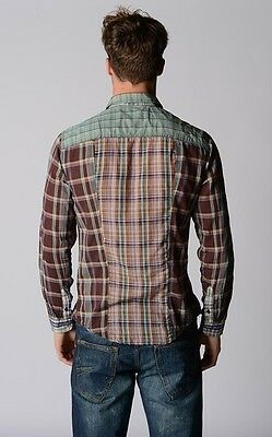 DESIGUAL chemise carreaux M-L check shirt checked