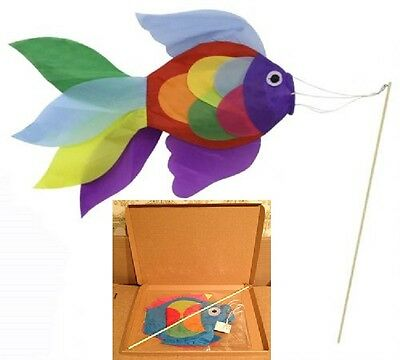 Fish Wind Sock Garden Windsock Tent Motorhome Flagpole Airfield Roof Kite