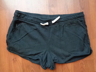 New Look Maternity Black Jersey Under Bump Shorts Size 18