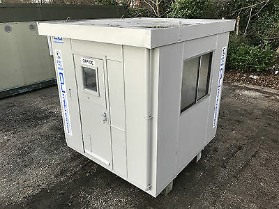 8ft x 8ft - Security Hut | Gate House | Office | Portable Office | Store