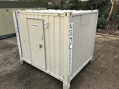 10ft x 8ft - Anti Vandal Canteen | Portable Office | Security Hut | Sink Unit