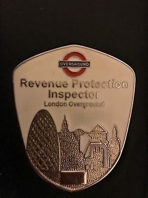 Transport For London Overground Revenue Protection Inspector's Plate