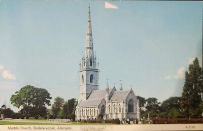 Wales , Denbighshire, Marble Church,abergele Unused Postcard  From Collection B8