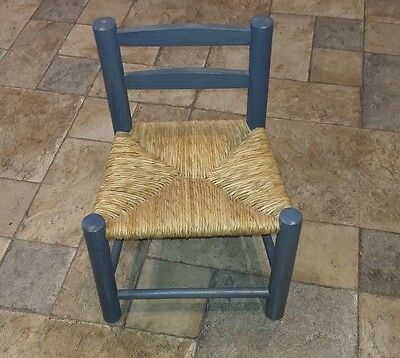 Small Wooden Chair  - For Large Doll Or Teddy