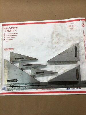 """3/4-1"""" THICK!! Angle Block Sets Machinist Made Precision Hardened & Ground J301"""