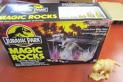 Jurassic Park Dinosaur Magic Rocks kit with the T-rex--complete