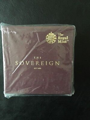 Royal Mint 2017 Half Gold Proof Sovereign Sealed
