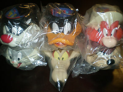 KFC Collectible Looney Tunes Mugs Lot of 6 Sealed ~Bugs ~Taz~Sylvester and More