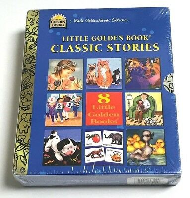 A LITTLE GOLDEN BOOK Collection 8 Classic Stories 1996 Hardcover Books Brand NEW
