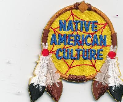 Girl Boy Cub NATIVE AMERICAN CULTURE Crafts Fun Patches Crest Badges SCOUT GUIDE