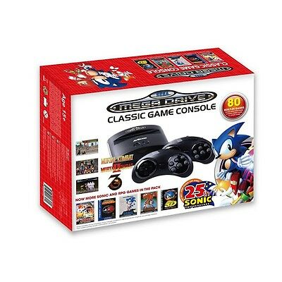 Sega Megadrive Classic Console with 80 Games - mega drive *FAST & TRACKED* *NEW*