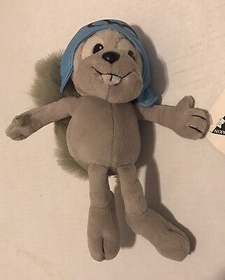 Rocky & Bullwinkle Rocket J. Squirrel 1994 Dakin Plush
