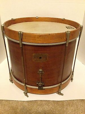 Vintage Joseph Rogers Jr & Sons Soo Brand Marching Parade Snare Drum