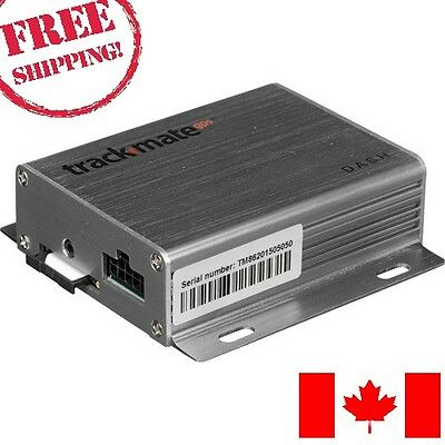 Trackmate Dash Vehicle GPS Tracker - Free Shipping From Canada - No Import Fees