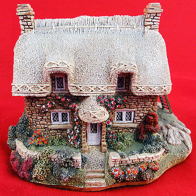 "Lilliput Lane BRIDLE WAY NO BOX 3.25""made England COLLECTORS CLUB SPECIAL PIECE"