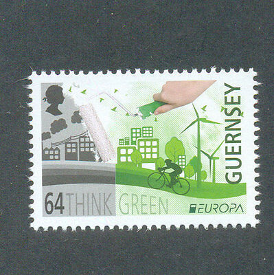 Guernsey - think green mnh-single value 2016