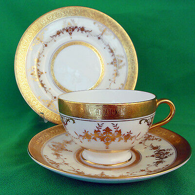 RIVERTON Minton England 3 PIECE SET Bread & Butter + Cup & Saucer NEW NEVER USED