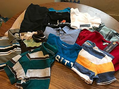 Huge Lot Of 13 Boys Size 8 Mixed New And Used Clothing!!