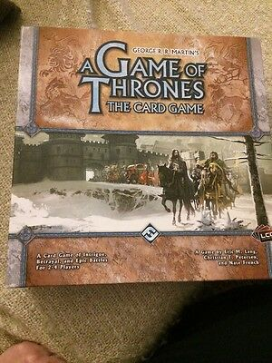 A Game of Thrones the Card Game Core Set - First Edition