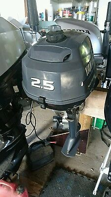 Yamaha 2.5 hp 4 stroke outboard engine
